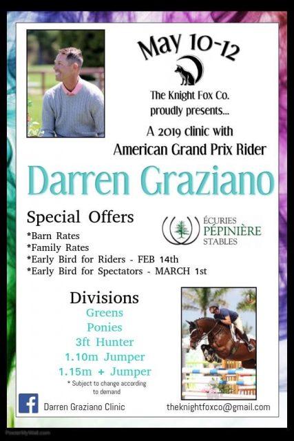 Darren Graziano Clinic 2019 The Knight Fox Co