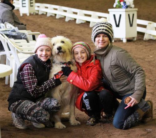Jen Udvarhelyi and family